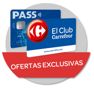 ofertas exclusivas tarjeta pass y club carrefour
